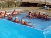 Insieme in piscina